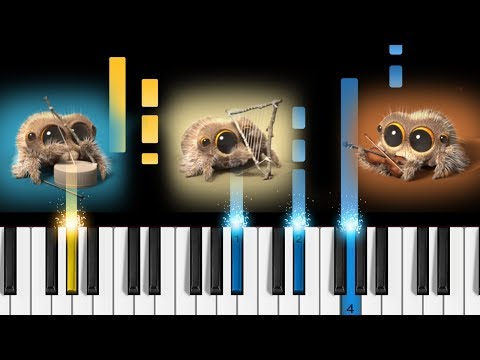 download Lucas the Spider - One Man Band - Piano Tutorial