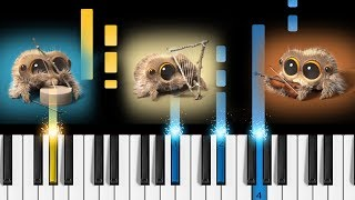 Lucas the Spider - One Man Band - Piano Tutorial
