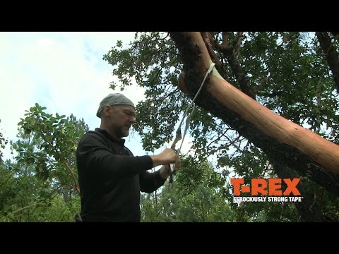 How to Make a Rope with T-Rex® Tape feat. Les Stroud