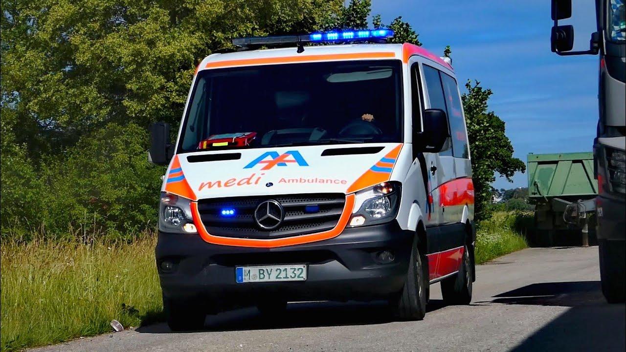 [Federal Signal Hornspiel] KTW 1/1 Medi Ambulance GmbH München
