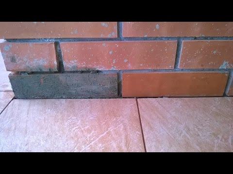 Очищаем кирпич от бетона!!! Шайтер Андрей!