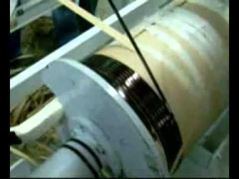 видео: Намотки трансформатора 400 Ква на станке СНС-8СИ-1000 (1200)