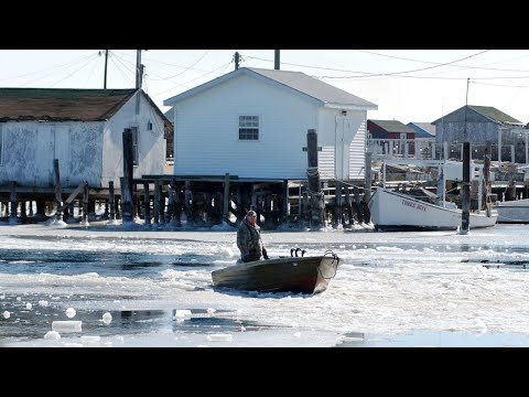 Trump pledges to save receding Tangier Island