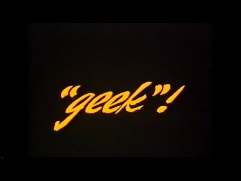 GEEK - also known as Backwoods (Obscure Video Movie - 1986)