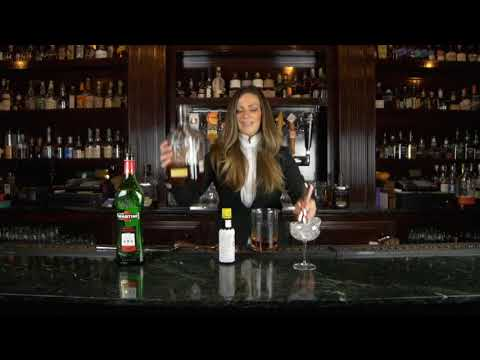 Bourbon Room Saratoga Manhattan Drink Tutorial