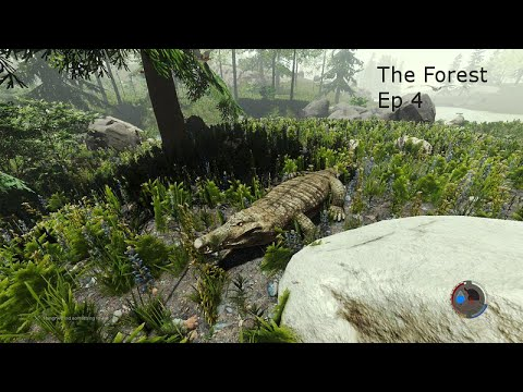 The Forest : Ep 4 : Crocodile Attack