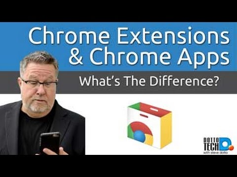 Chrome App Or Chrome Extension, What's The Difference?