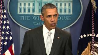 President Obama responds to Paris shootings and bombings