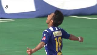2018年5月27日(日)に行われた明治安田生命J2リーグ 第16節 山形vs金...