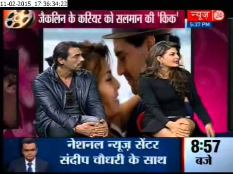Roy starcast Arjun Rampal,Jacqueline Fernandez exclusive interview on News24