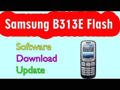 Samsung B313E Flash software download update by Krishna Mobile