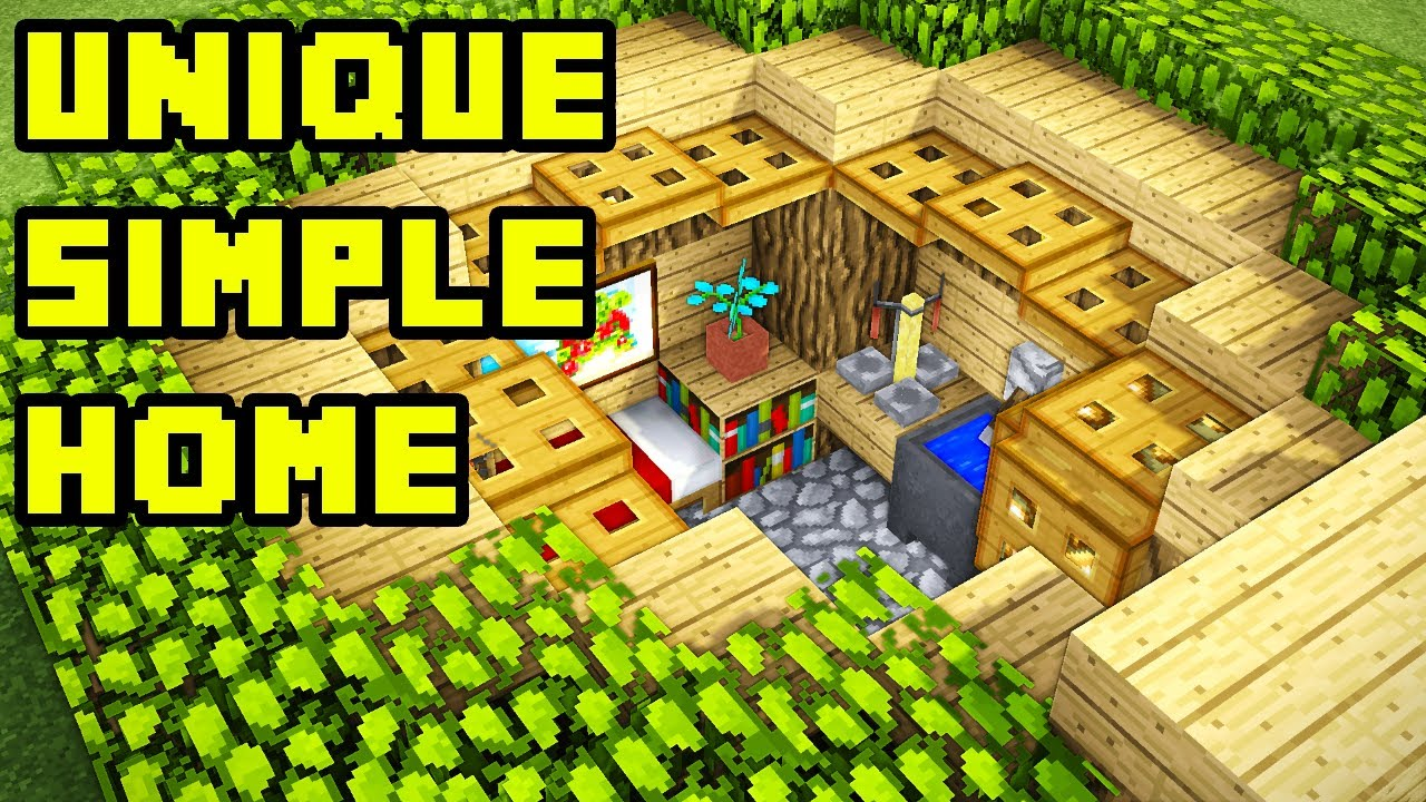 Easy Simple Minecraft Starter Survival House