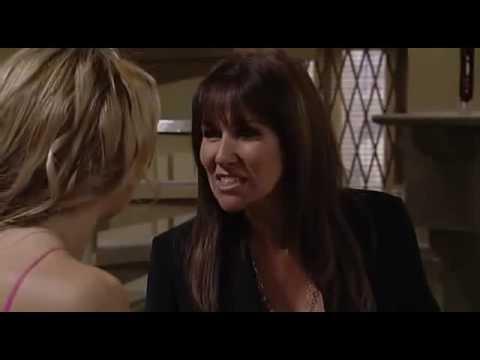 Emmerdale - Kelly Windsor slaps Carrie Nicholls (2007)