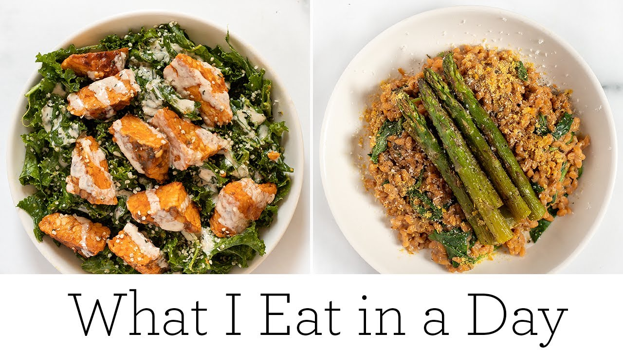 WHAT I EAT IN A DAY (VEGAN) + tips to reduce food waste