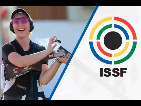 Trap Women Final - 2016 ISSF Rifle, Pistol and Shotgun World Cup in Baku (AZE)