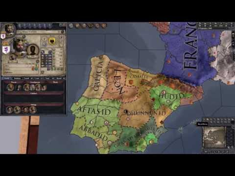 Barker Plays CK2 (Leon) – Episode 1 – Meeting Alfonso VI