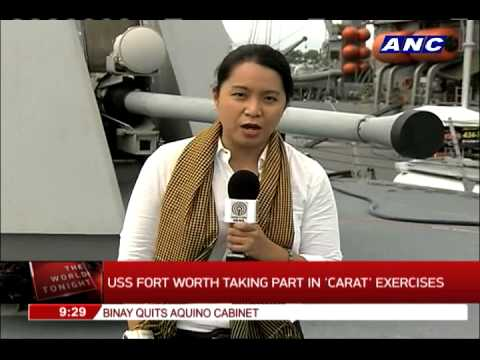 PH, US troops kick off annual naval exercise