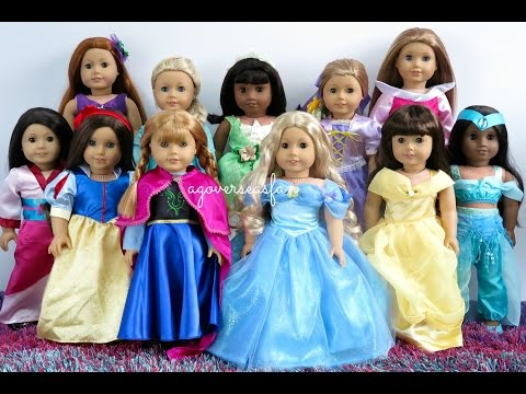 Dressing My American Girl Dolls For Halloween 2016