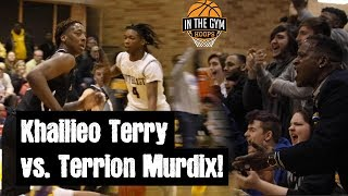 HIGHLY Athletic Khailieo Terry and Crafty D1 Guard Terrion Murdix DUKE it out!