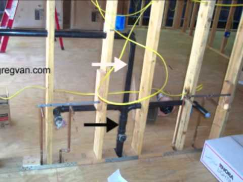 bathroom sink plumbing. How Does Your Bathroom Sink Drain And Vent Pipes Work  YouTube