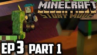 Minecraft Story Mode EPISODE 3 Part 1 | EPIC BATTLE! | Minecraft Story Mode Episode 3 Walkthrough