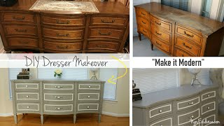 DIY Dresser Makeover: Detailed Rehab Guide // Ng