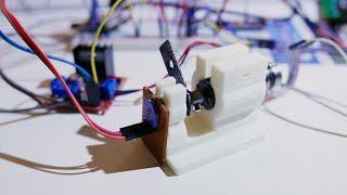 Pt 1/2. DC gear motor + shaft potentiometer = DIY closed-loop servo.
