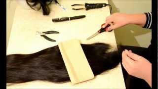 видео Зачем женщине длинные волосы?