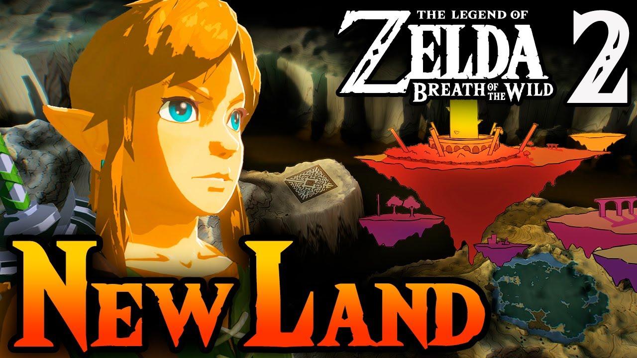 New Lands in Zelda Breath of the Wild 2