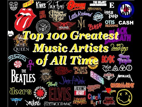 Top 100 Greatest Music Artists Of All Time