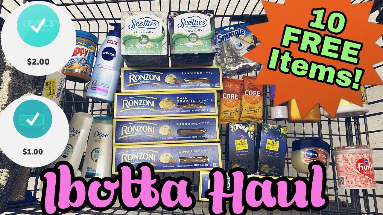 Walmart Ibotta Haul - 2 Bonuses Complete! I 10 Free Products
