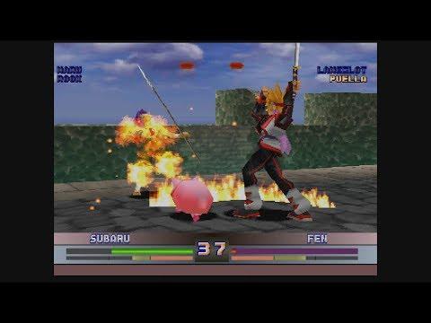 Battle Arena Toshiden 4 Sony Playstation RGB Framemeister