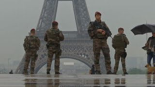 Across Europe, strong security measures in place for New Year's Eve