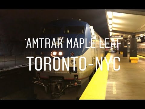 Amtrak Maple Leaf Full Record: Toronto to New York City by 13-hour train (Detour Bonus)