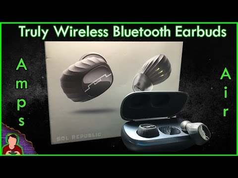 Sol Republic Amps Air Review | In-depth | Truly Wireless Bluetooth Earbuds