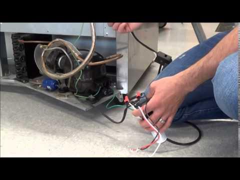 Replacing Refrigerator Capacitor Overload Relay With Su