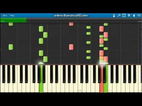 Bloc Party: So Hear We Are - Piano Tutorial (Synthesia)
