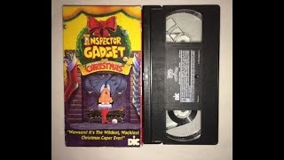 Inspector Gadget Saves Christmas Original 1993 VHS (Christmas in July Special)