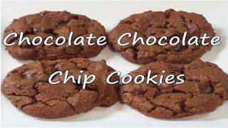 Chocolate Chocolate Chip Cookie Recipe!