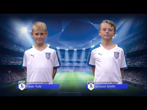 Trans World - Arbroath Lads Club 06's - UK Football Development Tour 2017
