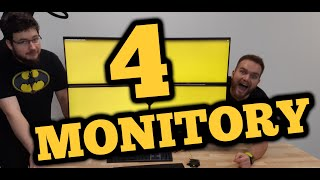 GRA NA 4 MONITORACH | ULTIMATE GAMING SETUP
