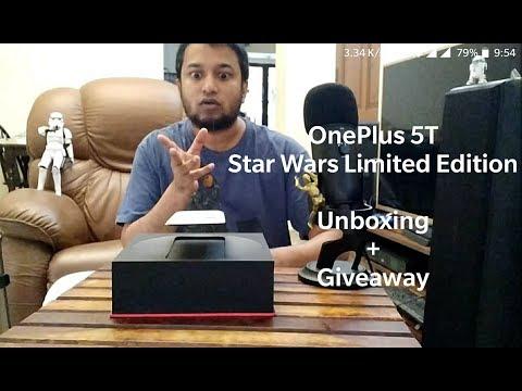 S01E01- McBc Tech Stuffs - OnePlus 5T Star Wars Ltd Edition Unboxing