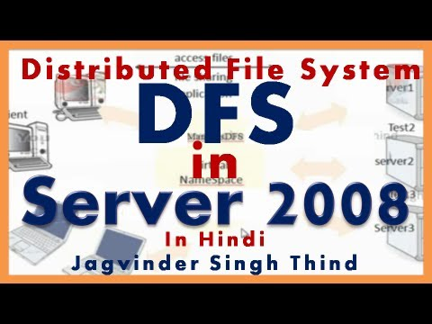 What is DFS in Hindi - Distributed File System - File server - Part 6