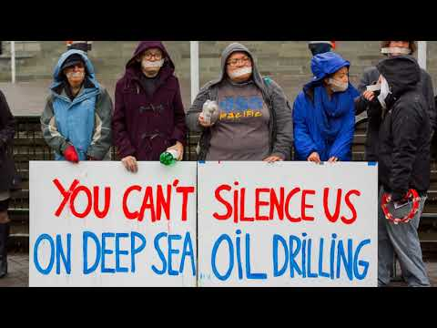 Protesting Oil and Gas New Zealand