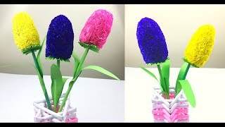 Paper Flowers | Flower Making With Paper | Paper Crafts For School | Paper Craft