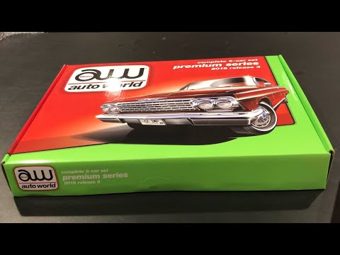 Auto World Box Set Limited To 150 - 2018 Premium Release 3 Set A