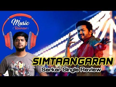 Simtaangaran single review  Vj Abishek  Sarkar  AR Rahman  Open Pannaa