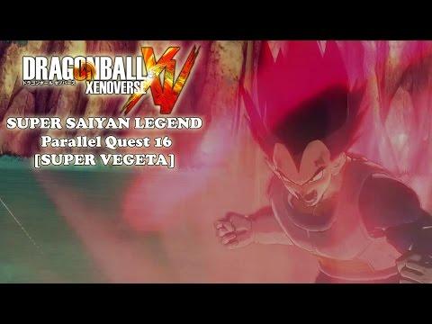 Super Saiyan Legend - Dragon Ball Xenoverse Parallel Quest 16 [SUPER VEGETA]