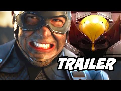 Avengers Endgame Trailer Easter Eggs and X-Men Future Crossover Breakdown