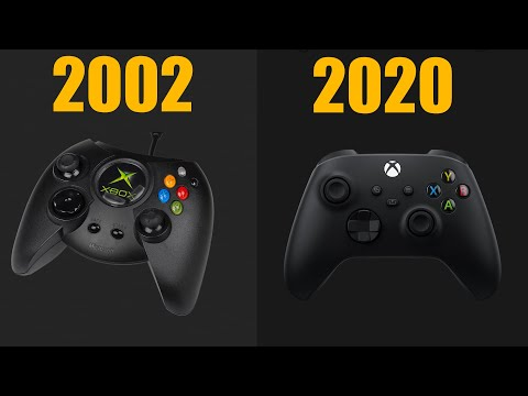 the-evolution-of-xbox-controller-from-xbox-to-xbox-series-x